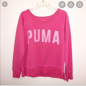 Puma Pink Sweatshirt